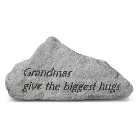Grandmas Give The Biggest Hugs Garden Accent Stone Grandmas Garden Stone