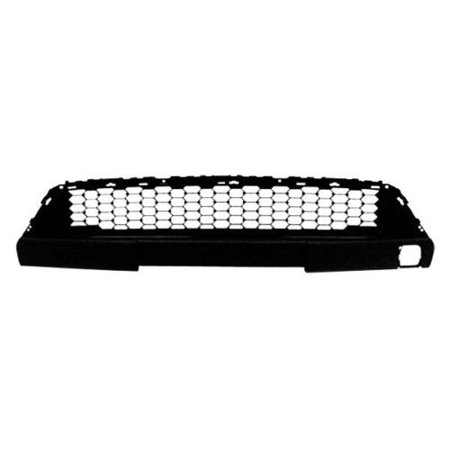 NEW FRONT BUMPER GRILLE BLACK PLASTIC FITS 2012-2014 TOYOTA YARIS