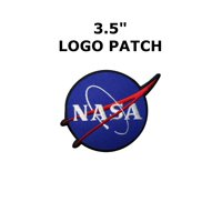 1 X NASA Logos Iron on Patches By Superheroes