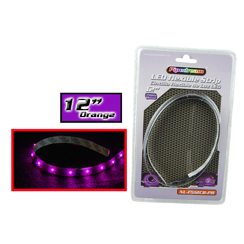 "Audiopipe Pipedream 12"" LED Flexible Strip Purple"