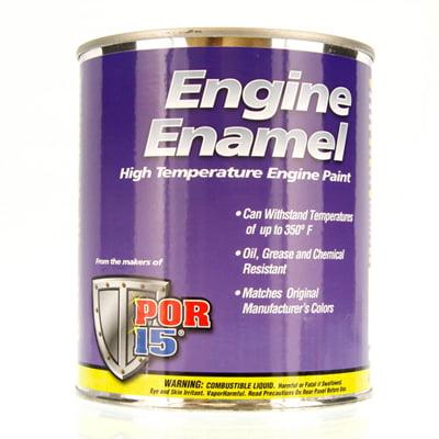 POR 15 ENGINE ENAMEL Oldsmobile Gold POR15 PINT PAINT 42228
