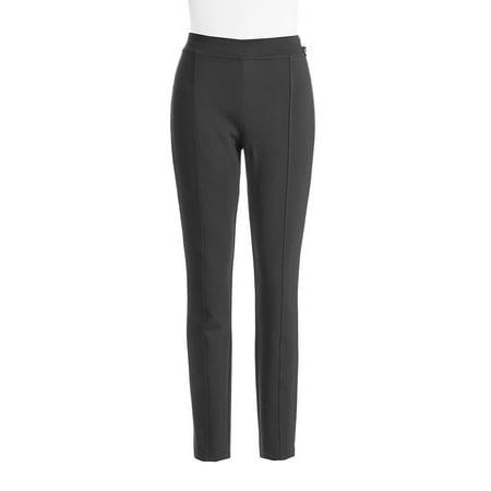 Seam-Detail Stretch Pants