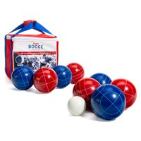 Deals on Franklin Sports Red, White and Blue Bocce Set Americana Set