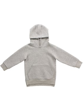Bear Camp Square Textured Hoodie (Little Boys and Big Boys)