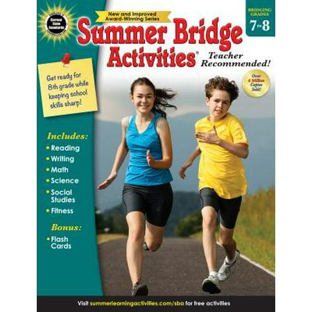 Summer Bridge Activities (7–8) Book (Summer Camp Activity Ideas)