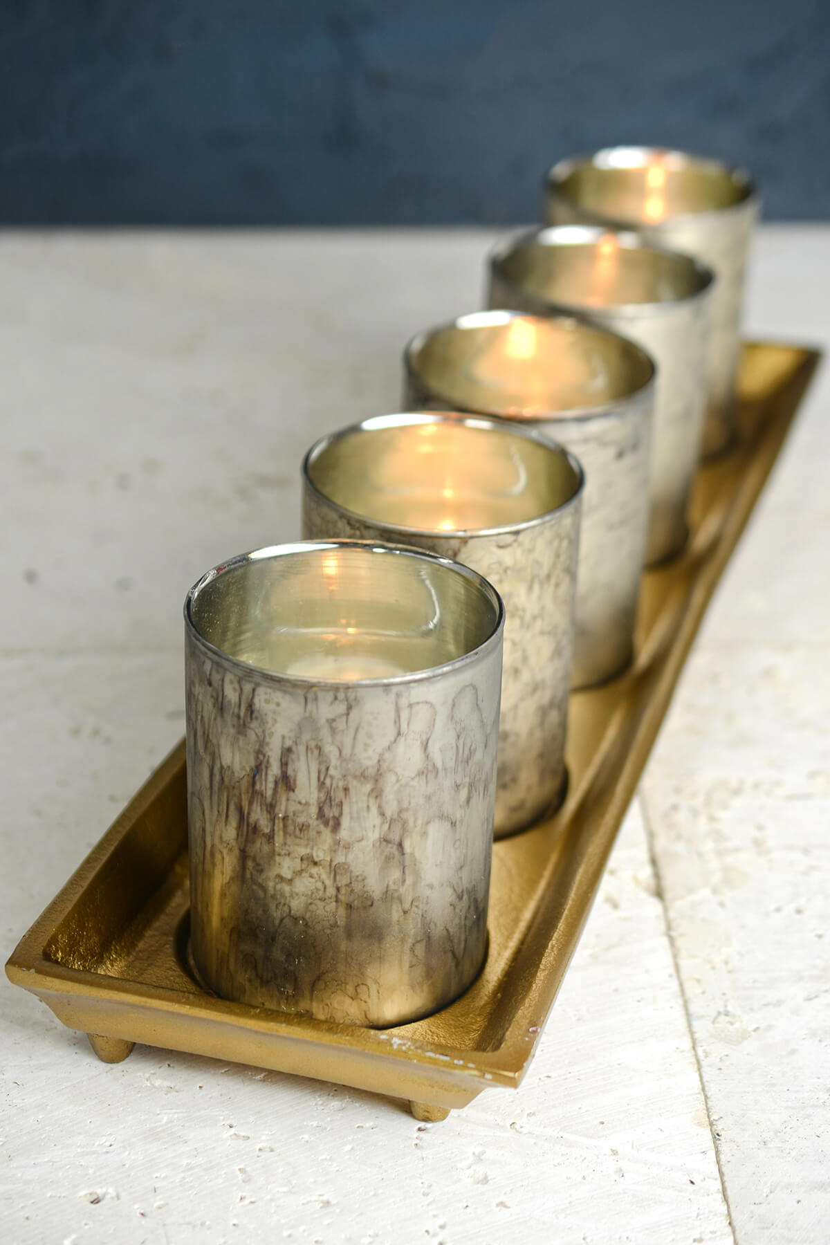 mercury votive candle holders