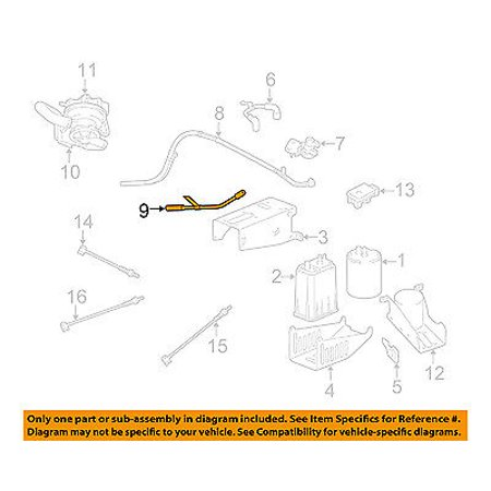 Dodge CHRYSLER OEM 02-06 Ram 1500 4.7L-V8 Emission System-Vacuum Hose on