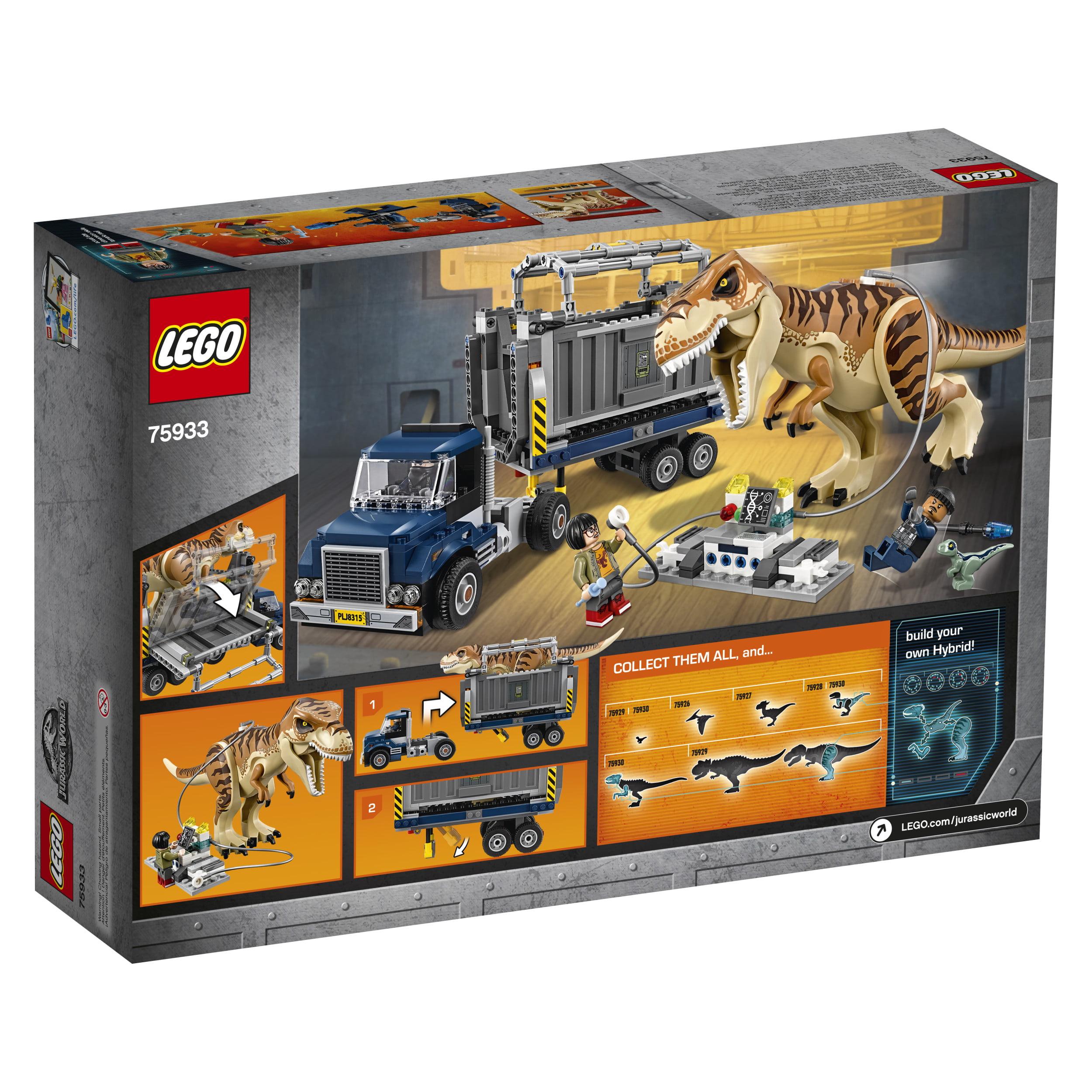 LEGO Jurassic World T. Rex Transport 75933   Walmart.com