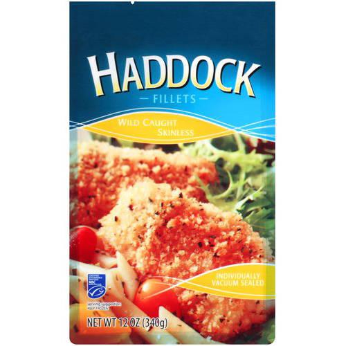 Haddock Fillets, 12 oz