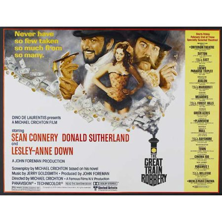 The Great Train Robbery POSTER Movie D (27x40)