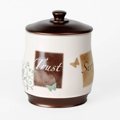Mainstays Butterfly Blessing Cotton Jar, 1 Each