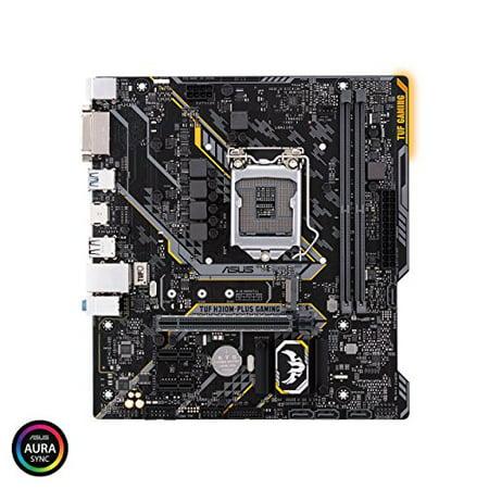 Tuf H310m-plus des jeux de bureau Carte m?re - Intel Chipset - Socket LGA-H4 1151 - Micro Atx - 1 X Pr - image 1 de 1