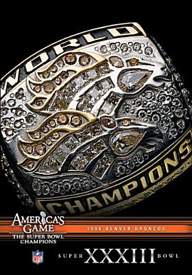 NFL America's Game: Denver Broncos Super Bowl XXXIII (DVD) by CINEDIGM