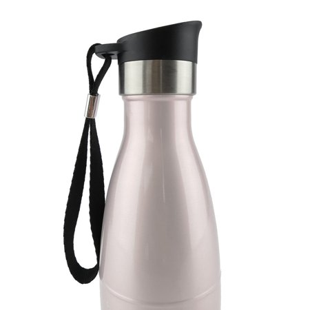 ICONIQ Push Button Sip Cap for 17 Ounce Insulated Water Bottles (Black)
