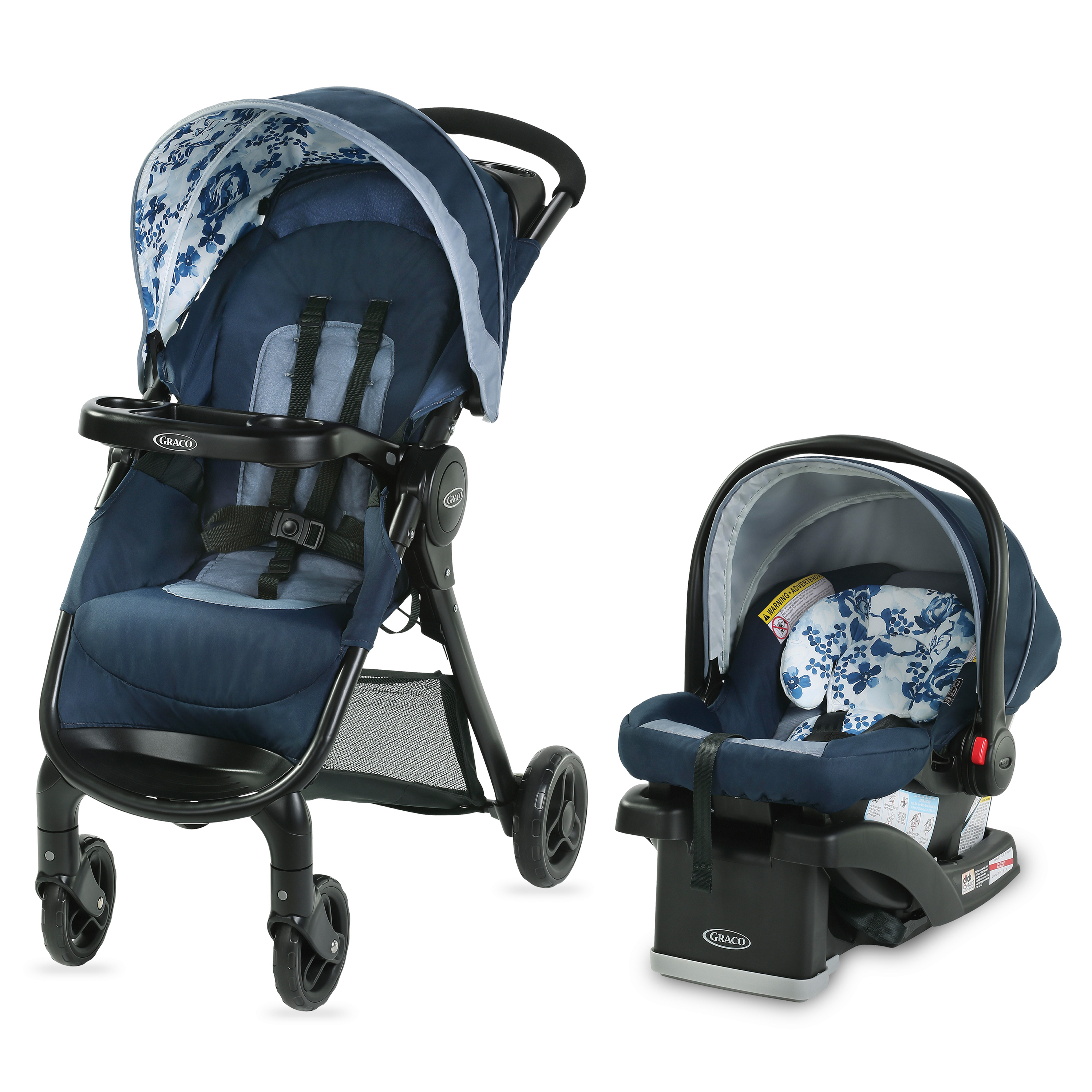 Graco FastAction SE Travel System, Hilt by Graco