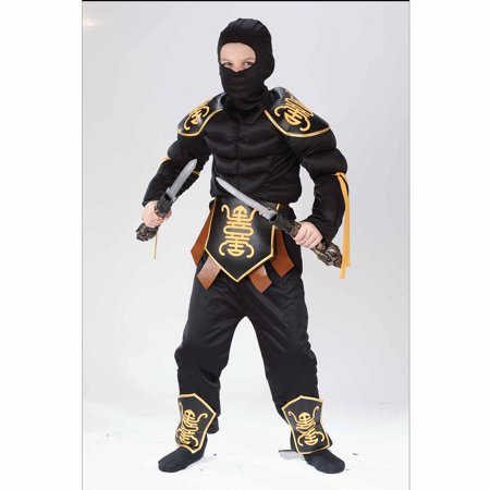 Ninja Warrior Muscle Child Halloween Costume