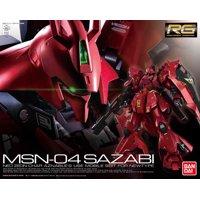Bandai Hobby Gundam Char's Counterattack Sazabi RG 1/144 Model Kit