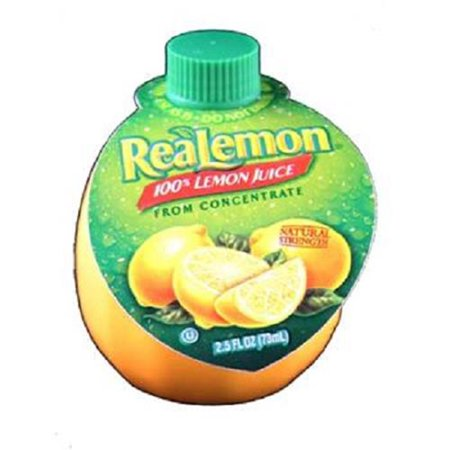 Realemon 100  Lemon Juice  2 5 Oz
