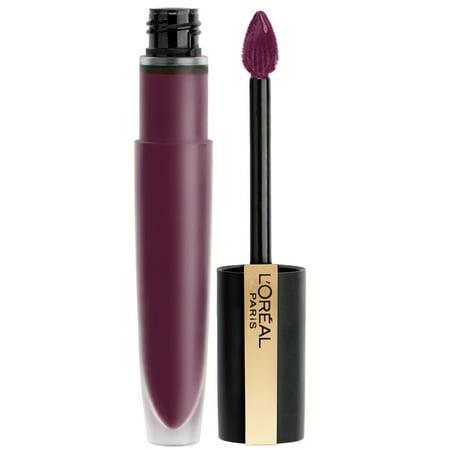 L'Oreal Paris Rouge Signature Matte High Pigment, Lightweight Lip Ink, I (Loreal Glam Shine Lip)