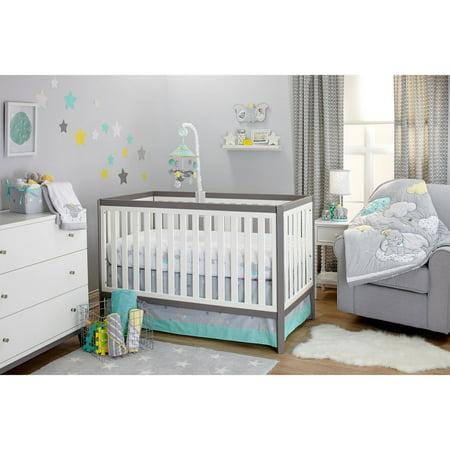 Disney Dumbo Dream Big 3pc Crib Set Walmart Com