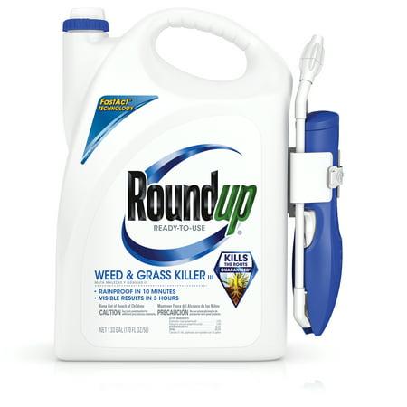 Roundup Weed & Grass Killer III Wand Comfort Wand Ready-To-Use 1.33