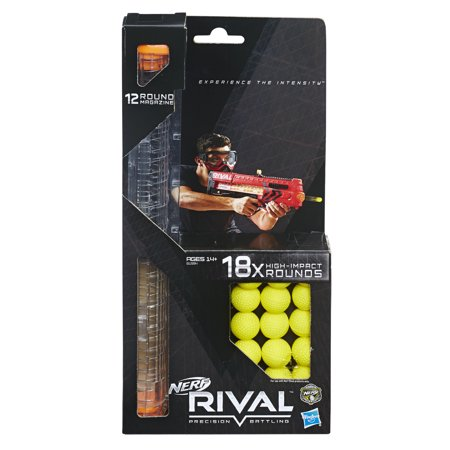 - Nerf Rival 18-Round Refill and 12-Round Magazine