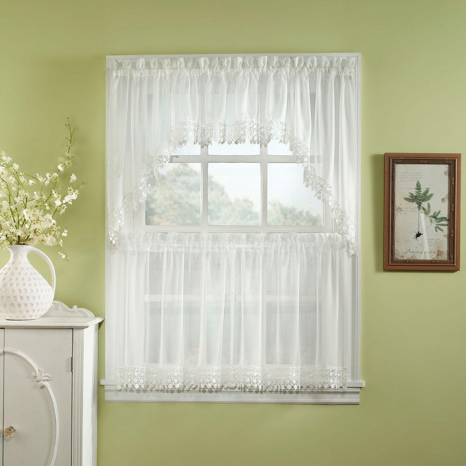 CHF Industries Ashlyn Tailored Kitchen Curtain Set