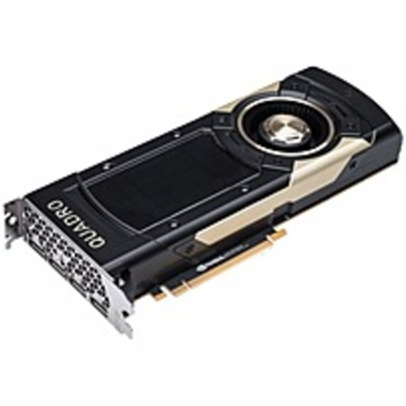 PNY Quadro GV100 Graphic Card - 32 GB HBM2 - Full-height - Dual Slot Space  Required - 4096 bit Bus Width - Fan Cooler - OpenGL 4 5, DirectX 12,