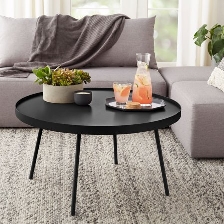 Mainstays Arlo Round Coffee Table, Multiple Finishes ()