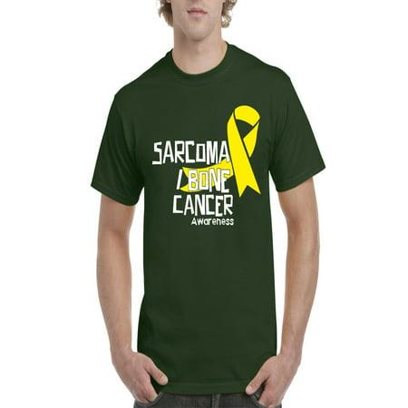 Sarcoma Bone Cancer Awareness Men Shirts T-Shirt Tee