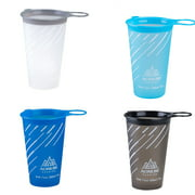200mL Folding TPU Water Cup for Outdoor Cycling Camping Running Hiking Soft Drinking Cups