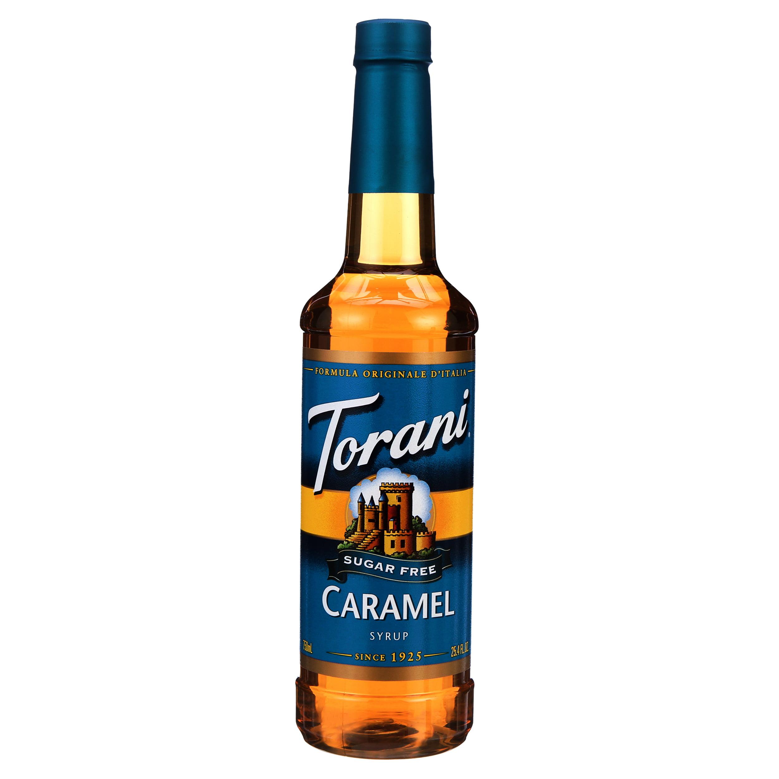 Torani Sugar Free Caramel Syrup, Coffee Flavoring, Drink ...