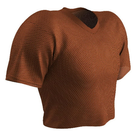 Champro Poly Porthole Mesh Waist Length Football Practice Jersey, Youth or
