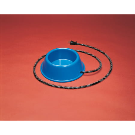 Allied Precision 1B 1 qt Plastic Heated Pet Bowl