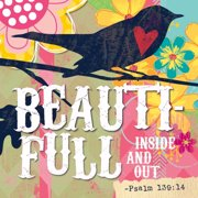 Divinity Boutique 077202 Magnet Canvas-Inspired Grace, Beauti-Full