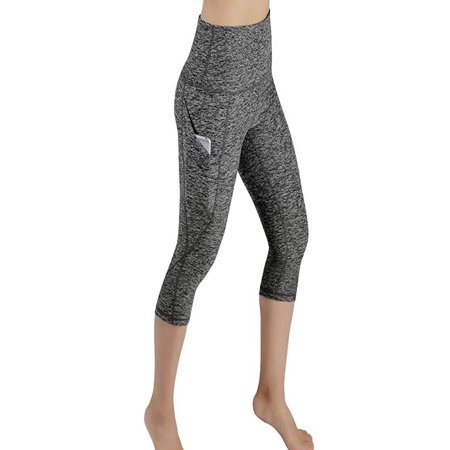97035d4aad2ba Women Workout Out Pocket Leggings Fitness Sports Gym Running Yoga Athletic  Pants - Walmart.com