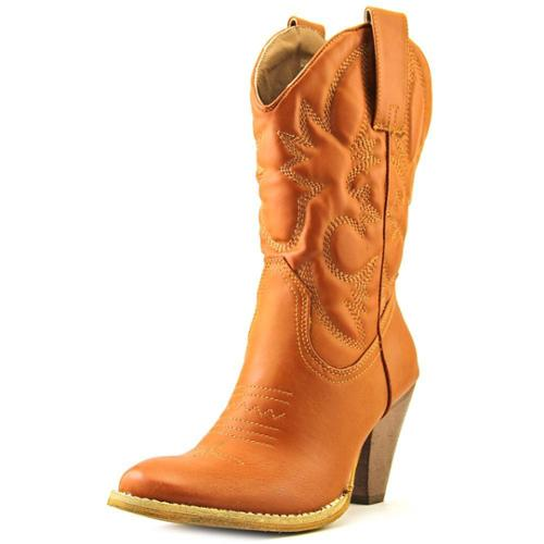 Spite Saddleup Women US 7.5 Tan Western Boot