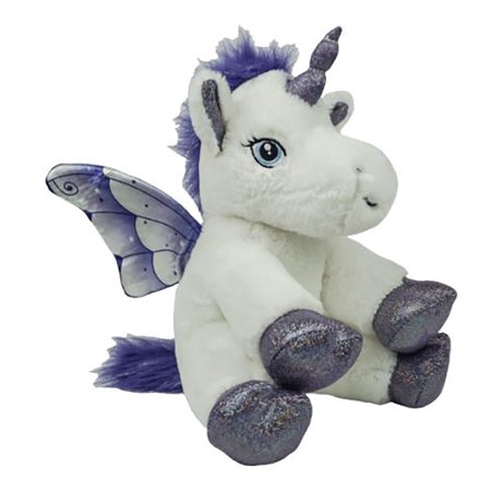 Cuddly Soft 8 inch Crystal the Unicorn Friend.We stuff 'em.you love 'em! - Unicorn Valentine