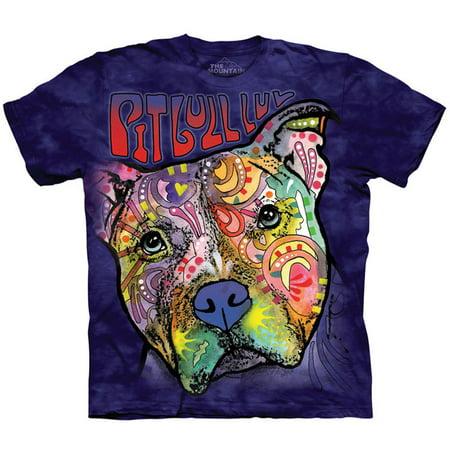 The Mountain Men's  Pitbull Luv T-shirt -