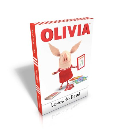 OLIVIA Loves to Read : Olivia Trains Her Cat; Olivia and Her Ducklings; Olivia Takes a Trip; Olivia and the Snow Day; Olivia Plants a Garden; Olivia Goes