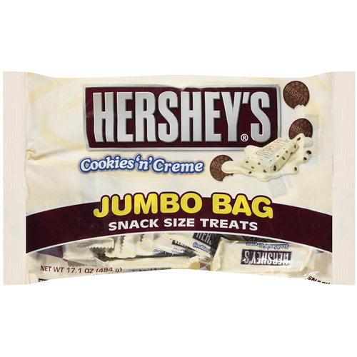Hershey's Cookies N Creme Snack Size Treats, 17.1 oz