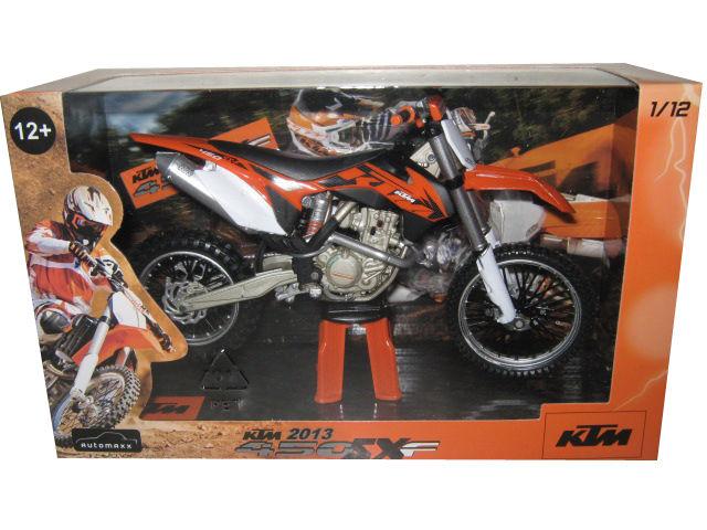 2013 KTM 450 SX-F Dirt Motorcycle Model 1 12 by Automaxx by Automaxx