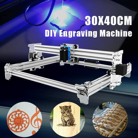 EleksMaker EleksLaser-A3 Pro 2500MW Desktop Laser Engraving Machine Kit for  DIY Logo Picture Marking Printer 30x40cm
