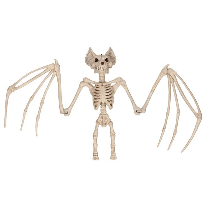 Morris SEW80063 36 in. Large Skeleton Bat Halloween Decoration