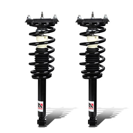 For 2000 to 2003 Nissan Maxima A33 Left / Right Rear Fully Assembled Shock / Strut + Coil Spring Suspension
