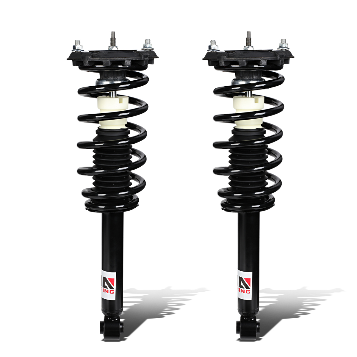 For 2000-2003 Nissan Maxima A33 Left/Right Rear Fully Assembled Shock / Strut + Coil Spring Suspension