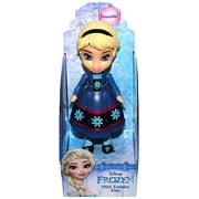 "Elsa Frozen Dark Blue Dress Disney Mini Toddler Doll 3"""