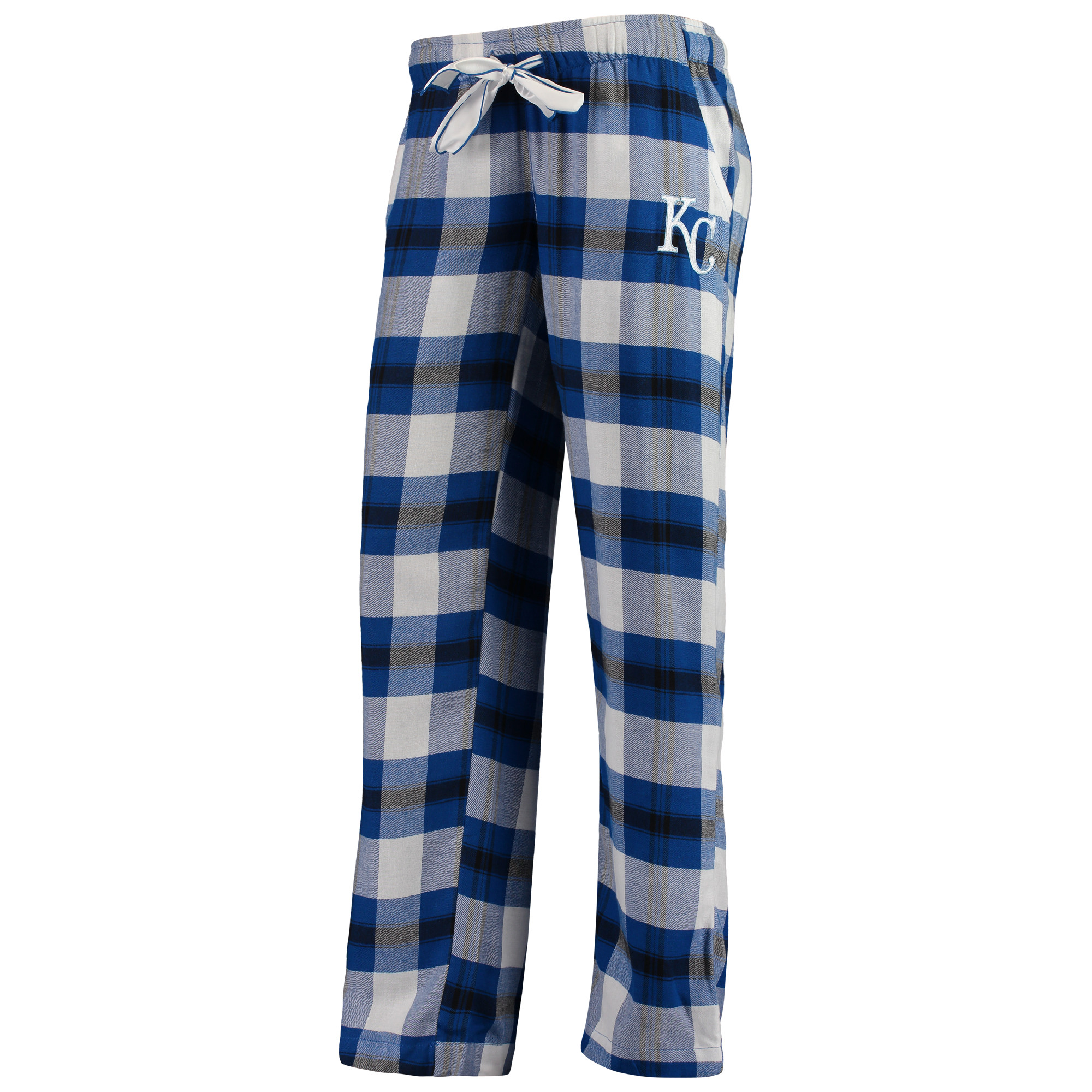 Kansas City Royals Concepts Sport Women's Headway Flannel Pants - Royal/Black