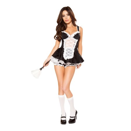 Roma Costume Halloween Party 4 Piece Maid You Do It - - Four Seasons Halloween