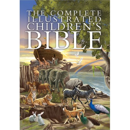 The Complete Illustrated Children's Bible (Hardcover) - Halloween Activities For Children's Church